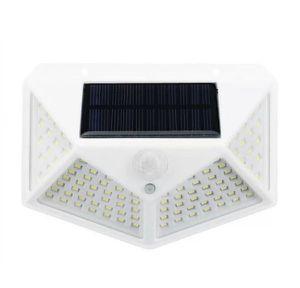 100 LED 270 degrees Solar Light Motion Light Sensor Outdoor Waterproof Garden Yard Patio Lamp WHITE for Sale in Ontario, CA