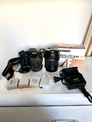 Canon Rebel t3i bundle + extra lens for Sale in Irvine, CA