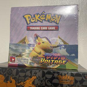 pokemon vivid voltage booster box for Sale in Bell, CA