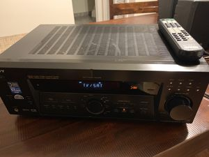 Sony stereo fm-am receiver / home theater system +speakers for Sale in Bloomingdale, IL