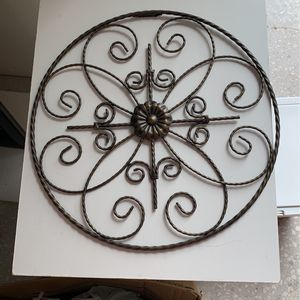 Iron art for wall hanging 14 in for Sale in Miami, FL