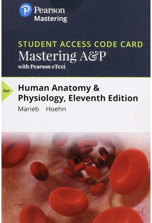 Mastering A&P access code 11th edition for Sale in Clearwater, FL