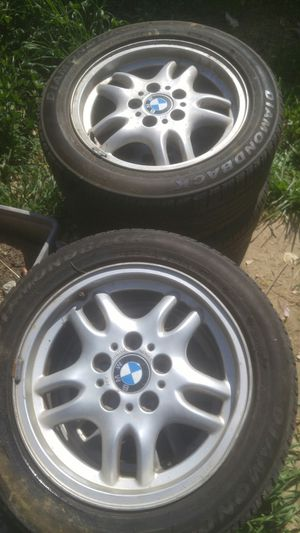 Bmw rims & tires for Sale in Bakersfield, CA