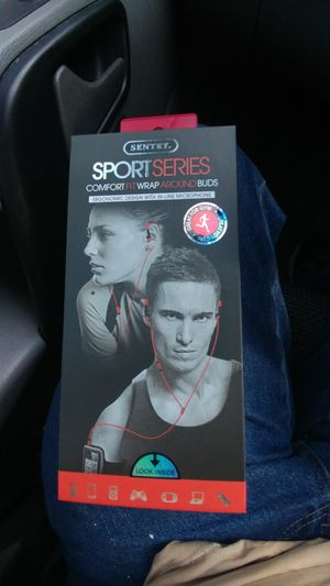 Sentry sport series earbuds..brand new!!! for Sale in Livonia, MI