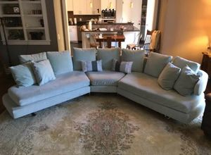 Beautiful Vintage Mid Century Modern B&B Italia Style large sectional Couch Sofa for Sale in Nashville, TN