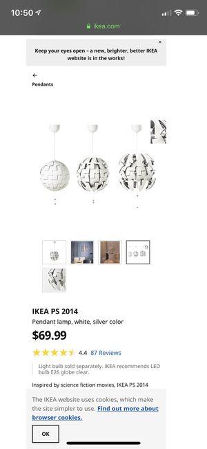 IKEA chandelier lamp for Sale in Miramar, FL