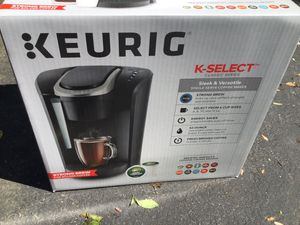 KEURIG K-SELECT CLASSIC SERIES for Sale in HVRE DE GRACE, MD