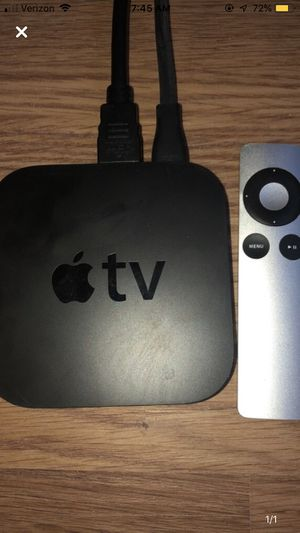 Apple TV with chords for Sale in Arlington, VA