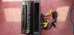 DVD car flip out radio for Sale in Penn Hills, PA