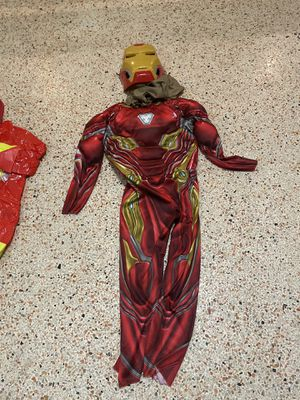Iron man costume and Firefighter costume for kids for Sale in Palm Springs, FL