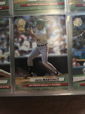 '92 Chito Martínez Baltimore Orioles outfield for Sale in Abbottstown, PA