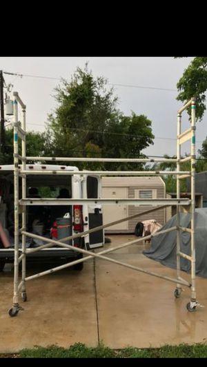 Werner Aluminum scaffold for Sale in Miami, FL
