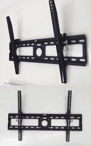 New in box 32 to 65 inches tilt tilting tv television wall mount bracket flat screen plasma 88 lbs capacity soporte de tv for Sale in Whittier, CA