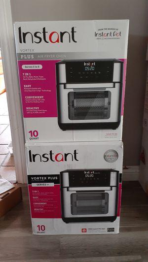 Instant Pot 10qt Digital 7in1 Air Fryer Oven New $80ea. (Price is Firm) for Sale in Gardena, CA