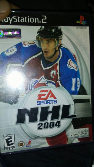 PS2 NHL 2004 for Sale in Madera, CA