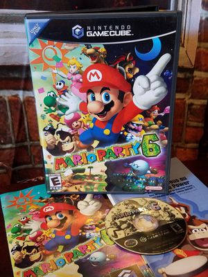 Mario Party 6 Nintendo GameCube Games 2004 Complete Case Disc Manual Video Game for Sale in Tampa, FL