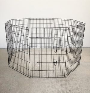 """New in box $40 Foldable 36"""" Tall x 24"""" Wide x 8-Panel Pet Playpen Dog Crate Metal Fence Exercise Cage for Sale in Montebello, CA"""