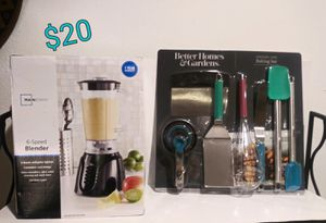 Blender and kitchen item bundle for Sale in Fayetteville, AR