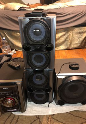 Sony, Mini Hi-fi Component System, MCH-ec98p for Sale in Fort Washington, MD
