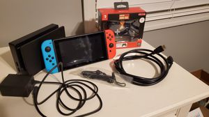 Nintendo Switch Plus Games and Extras for Sale in Acworth, GA