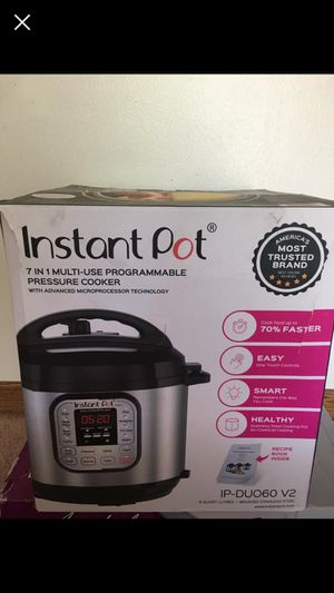 Instant Pot Pressure Cooker-Pending- for Sale in New England, WV