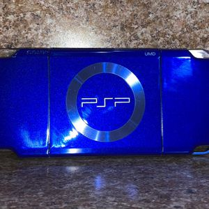 Limited Edition NFL Blue PSP with Games and Case for Sale in Miami, FL