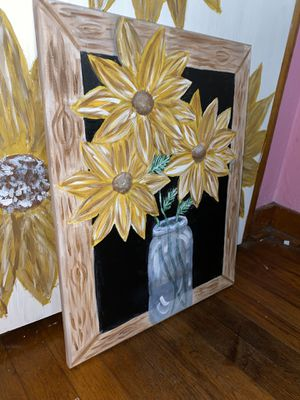 Sunflower painting for Sale in Monongahela, PA