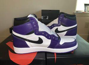 Jordan 1 Court Purple 2.0 (Size 8.5) for Sale in Tobyhanna, PA