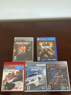 PS3 and PS4 games for Sale in San Diego, CA
