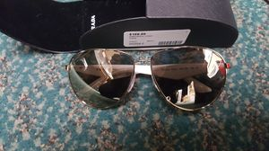 PRADA Sunglasses Spr Gold Ivory Aviator Authentic for Sale in Baltimore, MD