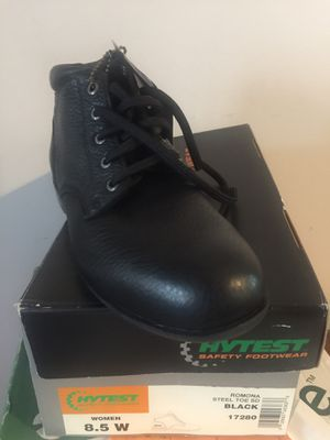 Steel toe work boots for Sale in Florissant, MO