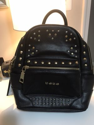 BRAND NEW WITH TAGS BEBE LEATHER BACKPACK for Sale in Silver Spring, MD
