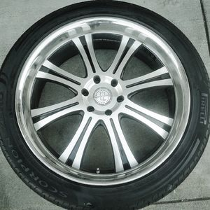 "24"" Rhino Rims w/tires for Sale in Los Angeles, CA"
