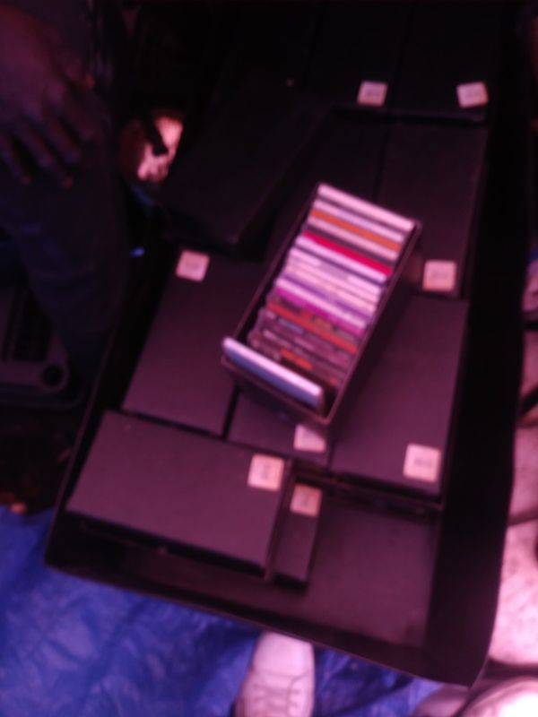 Music CDs. Assorted. About 500