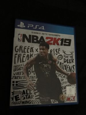 2K19 PS4 for Sale in Tacoma, WA