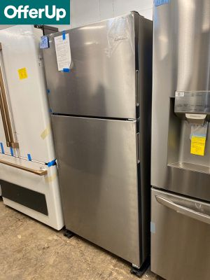 WE DELIVER! Amana Refrigerator Fridge Stainless Steel Brand New #765 for Sale in Levittown, PA