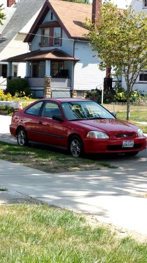 Red Honda Civic 1998 for Sale in Cleveland, OH