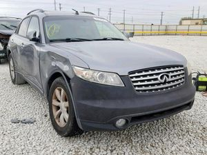 2005 INFINITI FX35 for parts parting out for Sale in Irving, TX