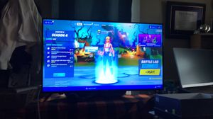 4k 50 inch smart tv with sound bar great deal for Sale in Plymouth, MA