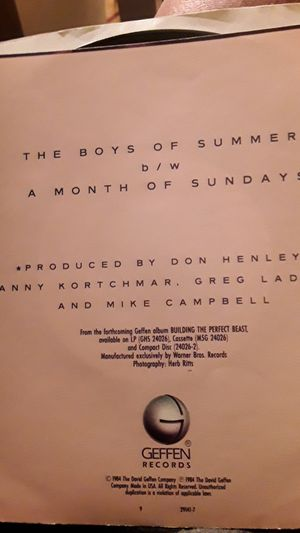 Don Henley 45 for Sale in Gibraltar, MI