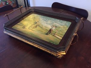 Decorative Tray (Coffee Table or Breakfast in Bed!) for Sale in Brooklyn, NY