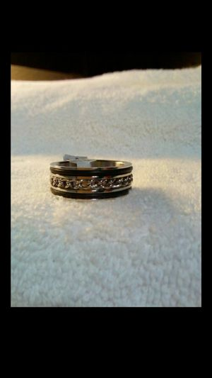 Brand new mens stainless steel ring size 11 1/4 very nice ring for Sale in Hemet, CA
