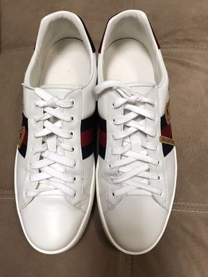 Gucci Ace Men Embroidered Loved -Size 11 for Sale in Deltona, FL