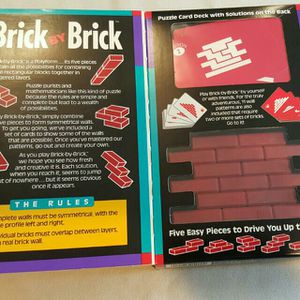Brick by brick puzzle game for Sale in Nutley, NJ