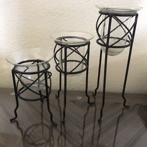 Candle Holder Set (3 Pieces) for Sale in Newport Beach, CA