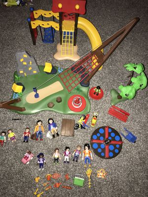 Play Mobil Swing Set and Playground for Sale in Canton, OH