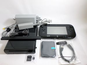 Modded Nintendo Wii U 32GB Deluxe (Black) | 1TB HDD | Model: WUP-101 for Sale in Moses Lake, WA