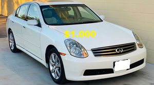 🎁$1000_2005 Infiniti G35 CLEAN TITLE 🎁 for Sale in Los Angeles, CA