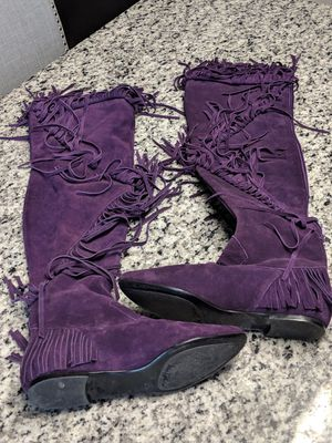 Sam Edelman URI Fringe Boots for Sale in Clarksburg, MD