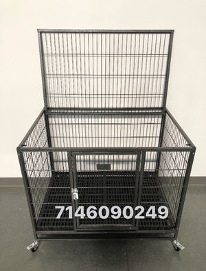 """Dog cage kennel size 37"""" medium new in box with plastic floor grid for Sale in Montclair, CA"""
